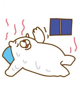 寝苦しい 暑い