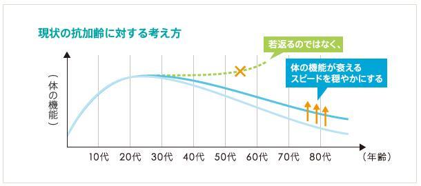 抗加齢グラフ