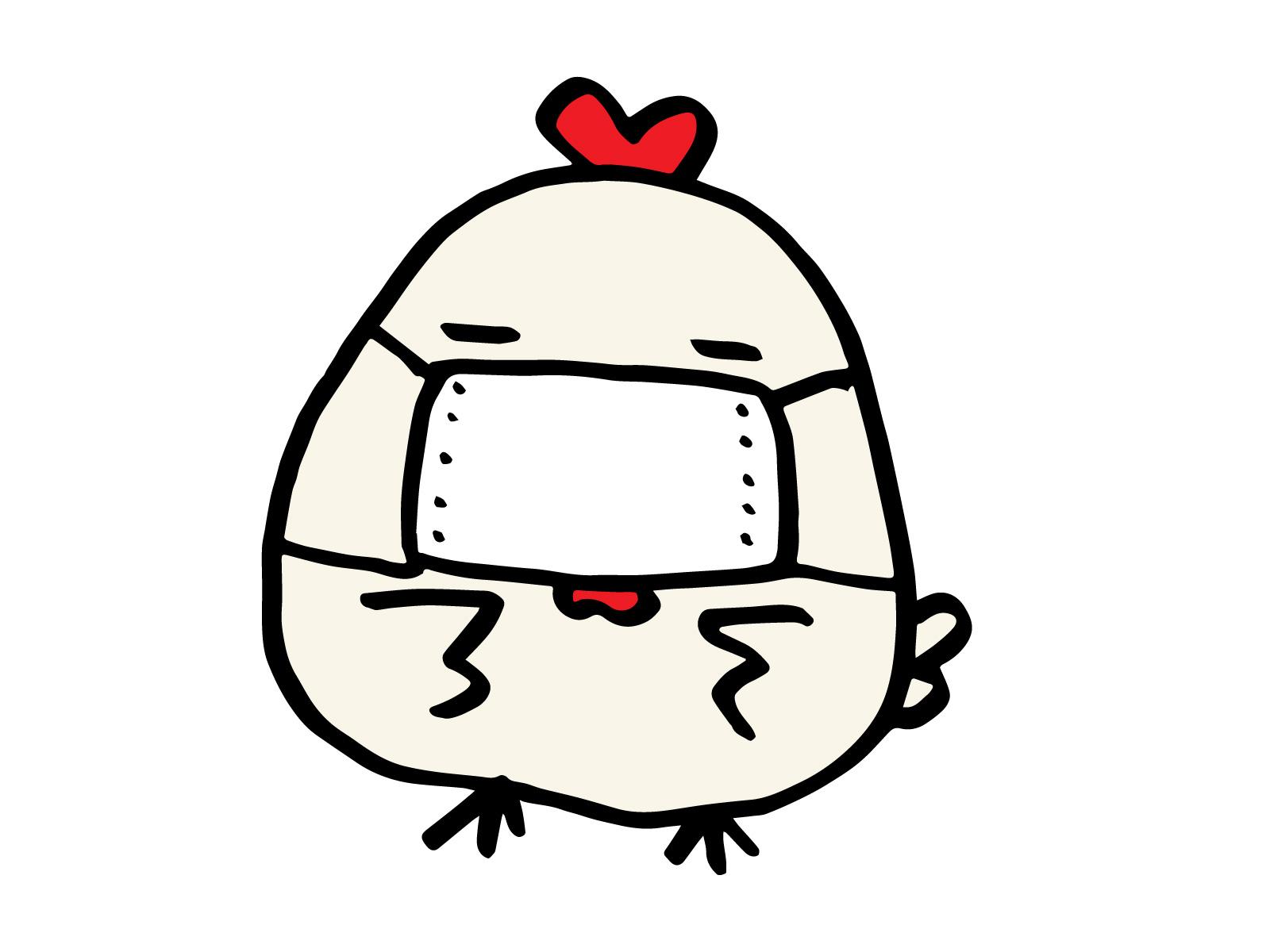 鶏 マスク