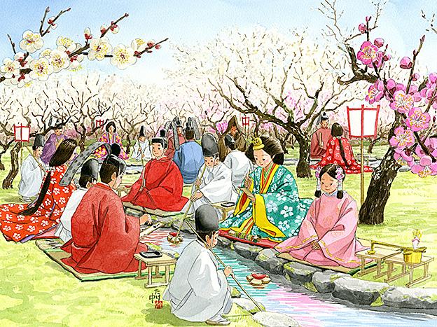 梅の花の宴